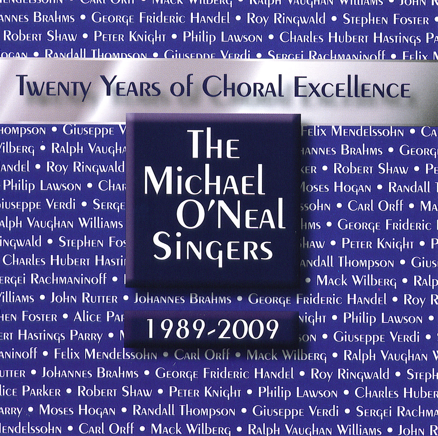 Twenty Years of Choral Excellence CD