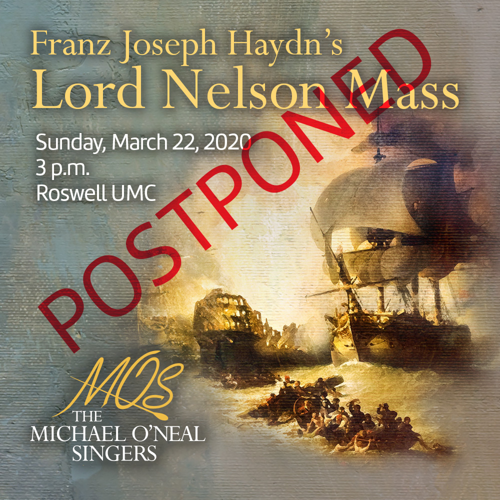 Lord Nelson Postponed